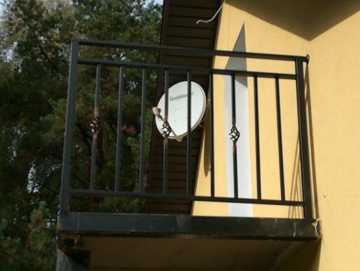 перила балкона - от 120 рублей за 1 м.п.