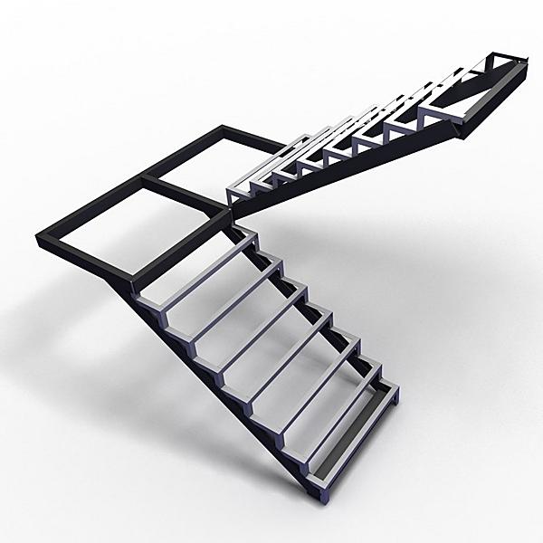 каркас лестницы - от 1200 рублей