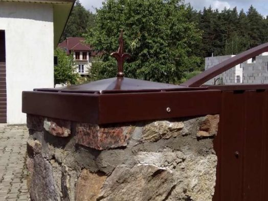 крышка на бетонный столб - от 50 рублей за 1 штуку