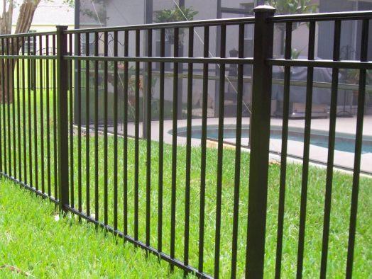 металлический забор - от 135 рублей за 1 м.п.