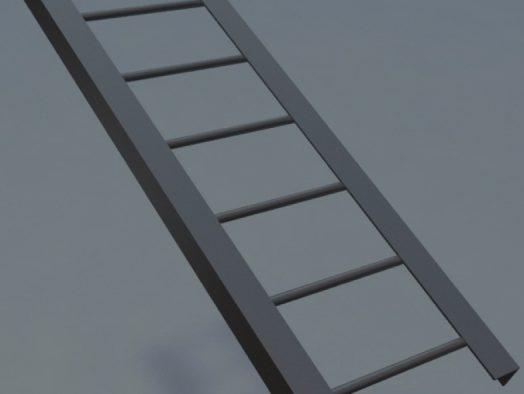 Металлические лестницы и стремянки