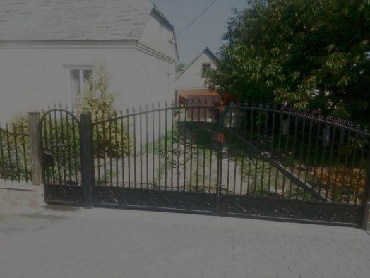 Ворота и калитки распашные