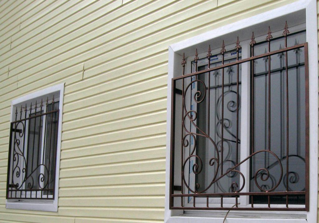 решетки на окна - от 350 рублей за 1 штуку