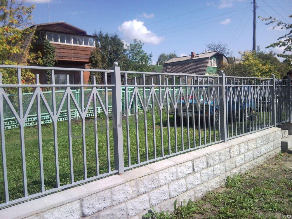 секционный забор - от 145 за 1 м.п.