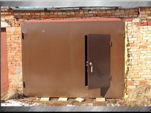 ворота гаражные - от 1000 рублей