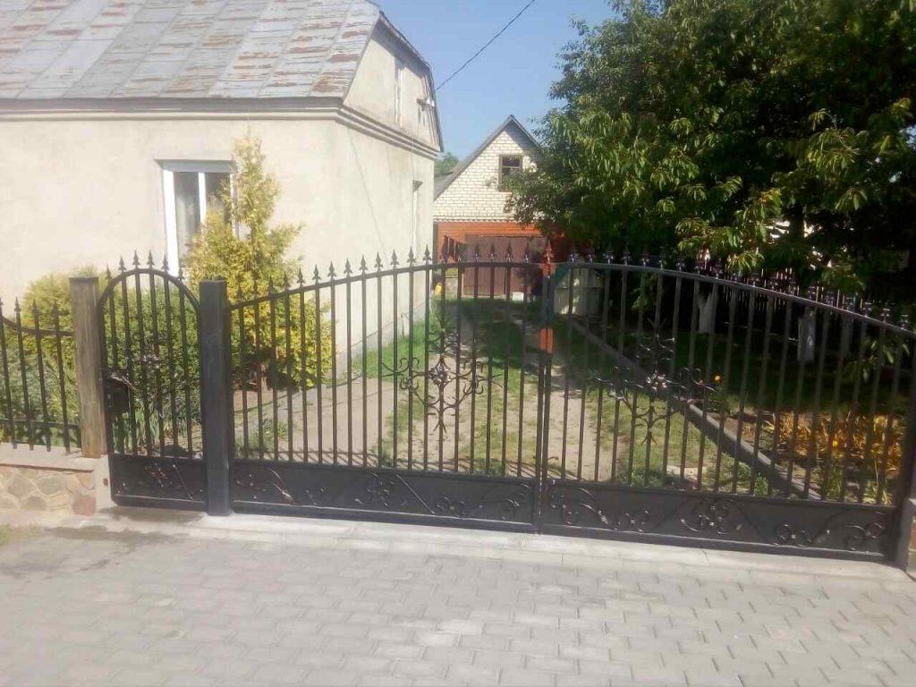 ворота с калиткой - от 1300 рублей