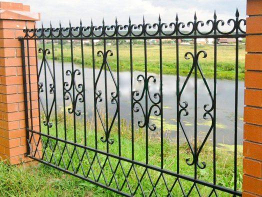забор кованный - от 210 рублей за 1 м.п.