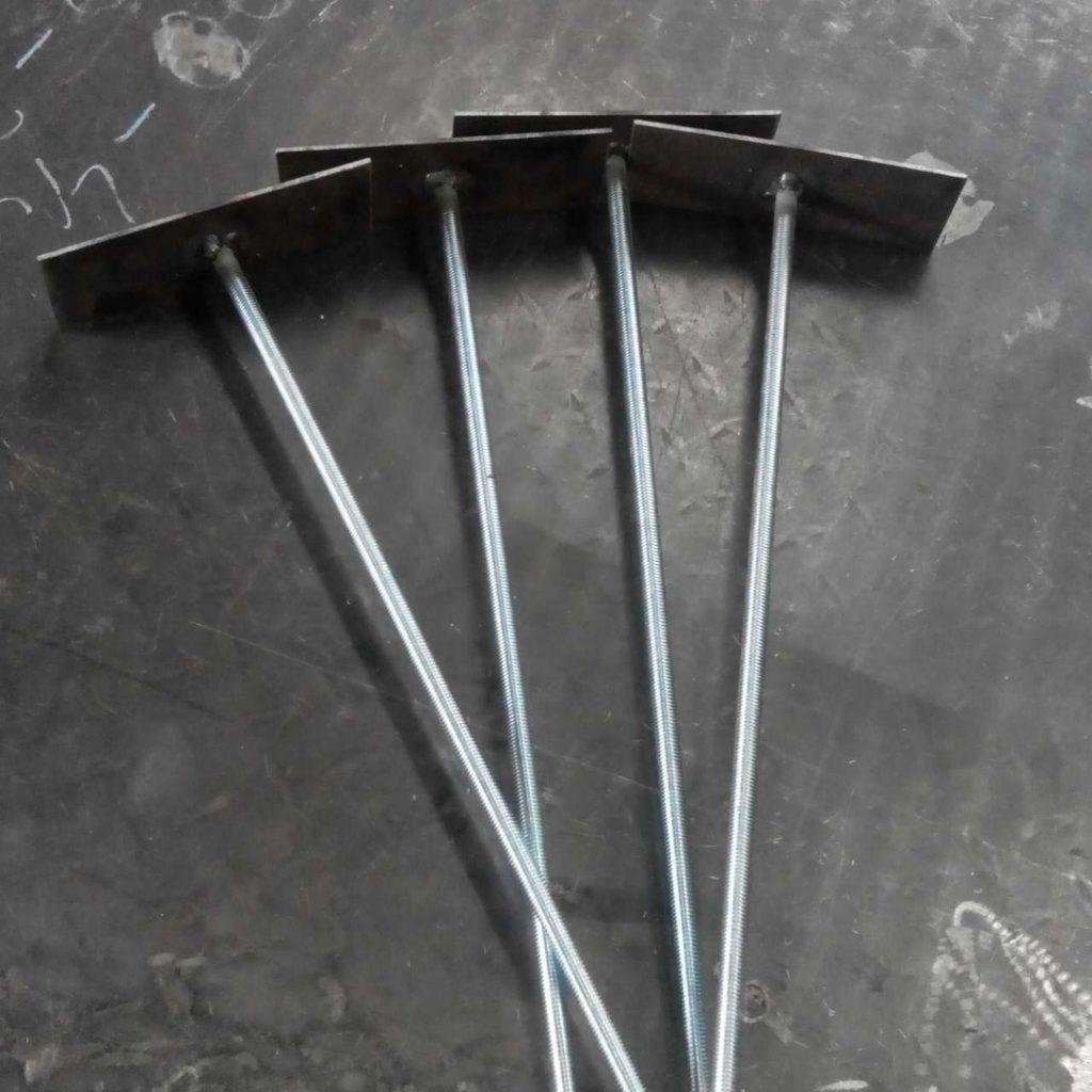 закладные для крепления балки перекрытия - от 7 рублей за штуку
